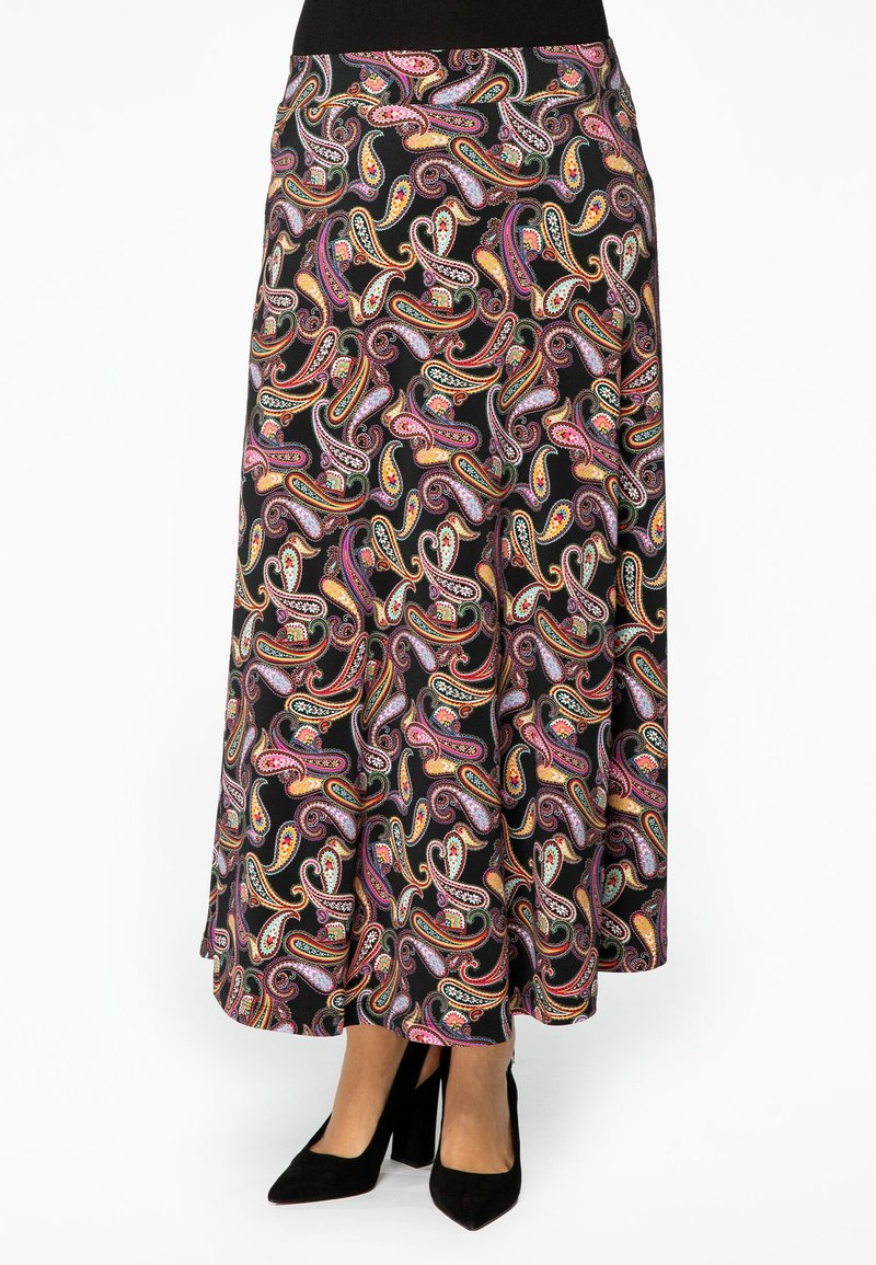 Yoek - Maxi skirt - black