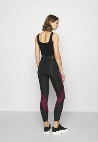 Jordan - PSG 7/8  - Leggings - Trousers - black/metallic gold - 2