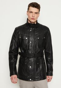 Be Edgy - GARRET - Krátký kabát - black - 0