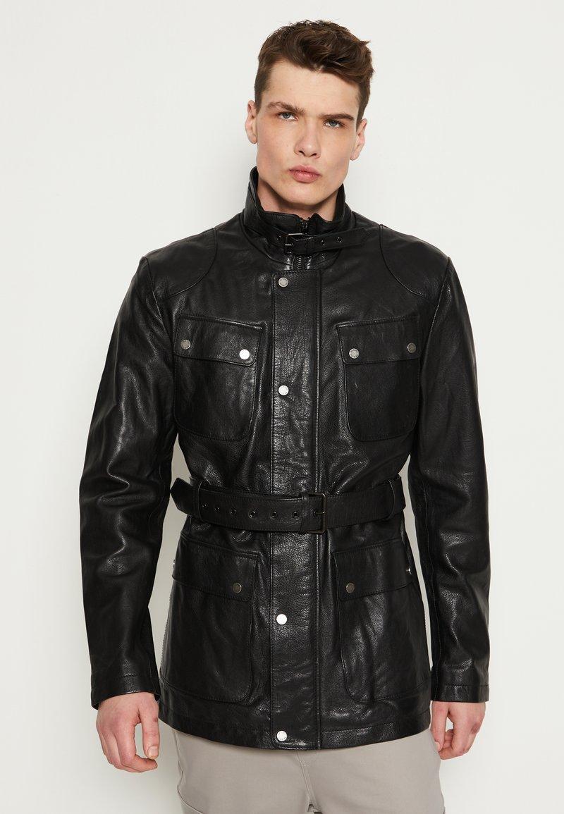 Be Edgy - GARRET - Krátký kabát - black