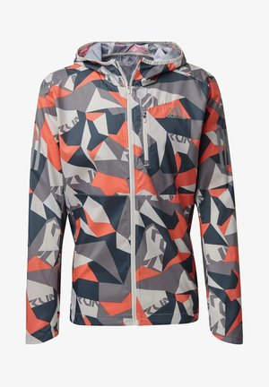 OWN THE RUN CAMO JACKET - Outdoor jacket - grey