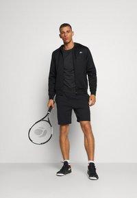 Lacoste Sport - TECH HOODIE - Zip-up hoodie - black - 1