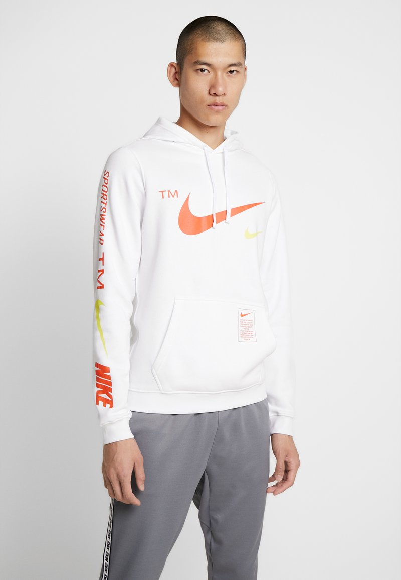 Nike Sportswear - CLUB HOODIE - Hættetrøjer - white