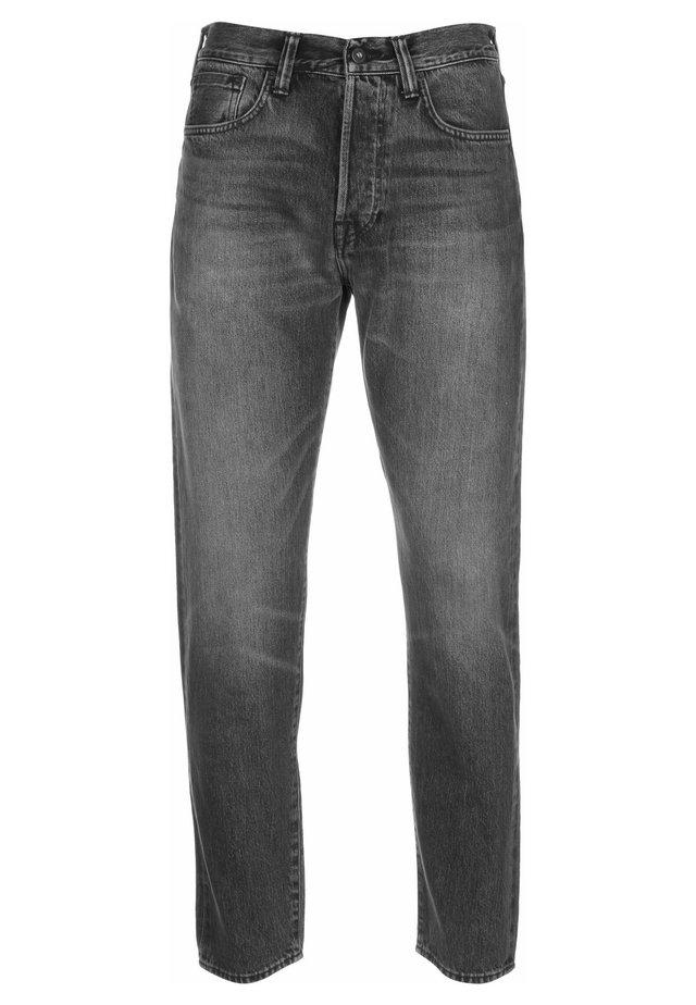 JEANS ED-45 KAGUYA SELVEDGE - Straight leg jeans - black rika wash
