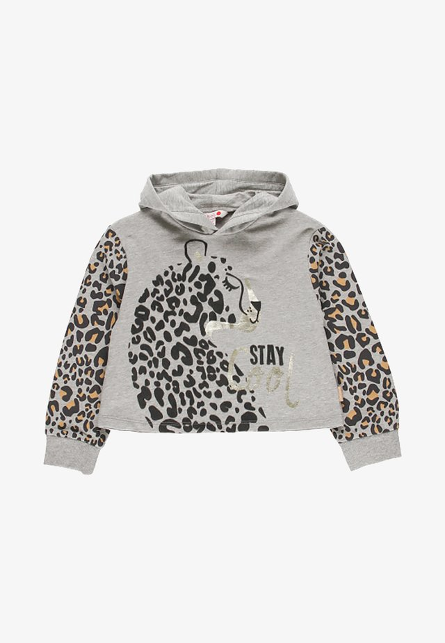 Sweat à capuche - melange grey