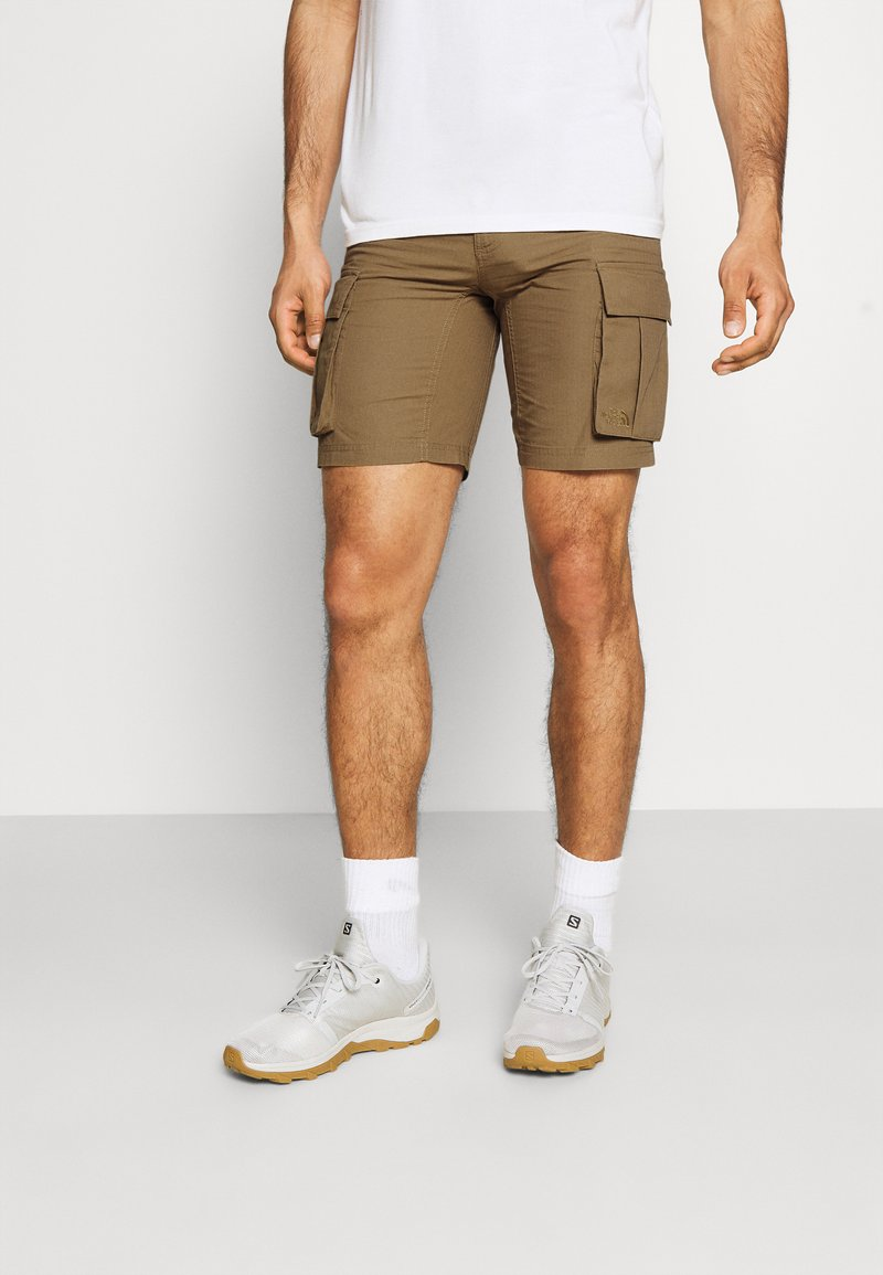 The North Face - ANTICLINE CARGO SHORT - Sports shorts - utility brown