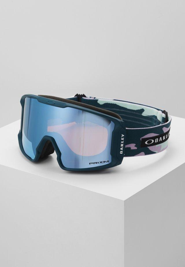 LINE MINER  - Occhiali da sci - light pink/turquoise