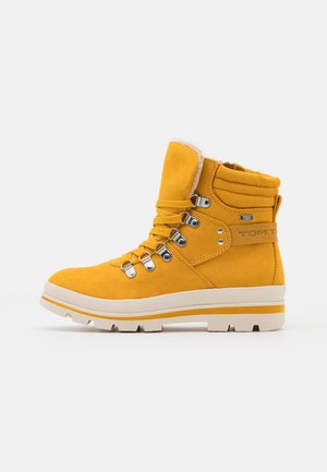 Snørestøvletter - yellow