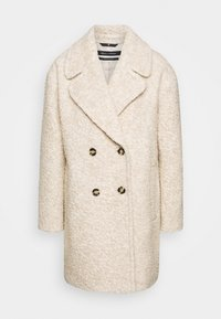 Marc O'Polo - COAT CURLY LOOSE FIT WIDE REVERS - Cappotto classico - alpaca melange - 4