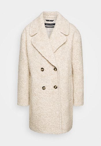 COAT CURLY LOOSE FIT WIDE REVERS