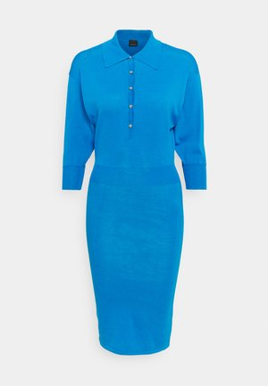 NUOTO ABITO MISTO - Shift dress - blue