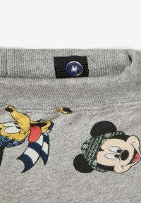 Name it - MICKEY MOUSE - Tracksuit bottoms - grey melange - 3