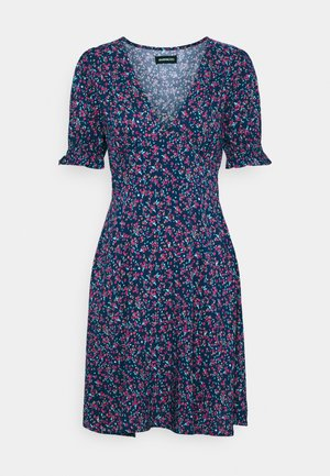 Sukienka letnia - blue/red