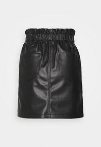 Noisy May - NMJUDO PENNY PAPERBACK SKIRT  - Mini skirt - black - 1