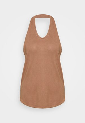 YOGA CORE COLLECTION TANK - Treningsskjorter - desert dust/fossil stone