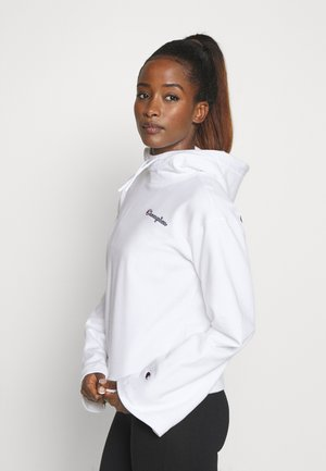 HOODED ROCHESTER - Bluza z kapturem - white