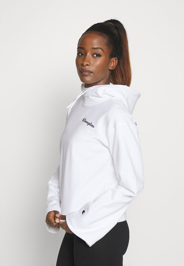 HOODED ROCHESTER - Jersey con capucha - white