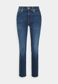 7 for all mankind - Straight leg jeans - mid blue - 0