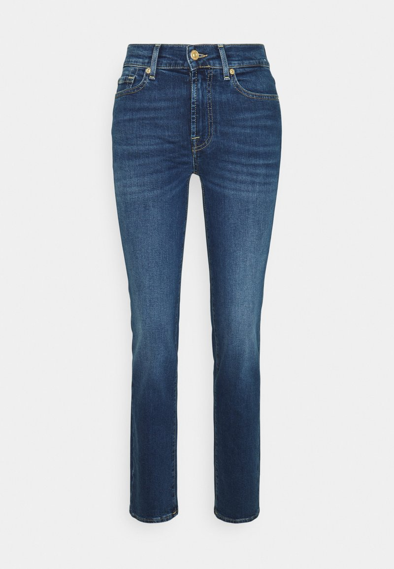 7 for all mankind - Straight leg jeans - mid blue