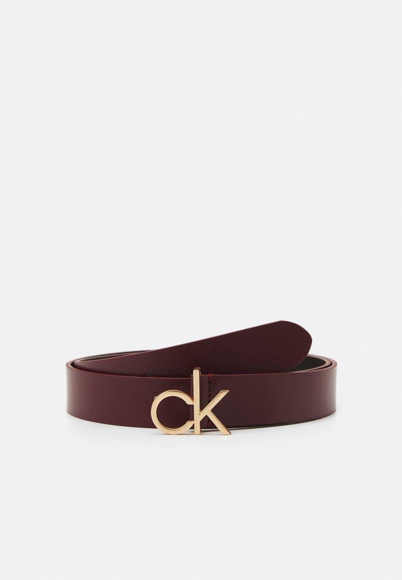 Calvin Klein - LOGO BELT - Belt - red