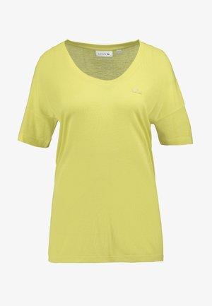 Basic T-shirt - midday yellow