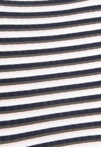 ONLY Petite - ONLEMMA HIGH NECK STRIPE  - Long sleeved top - cloud dancer/night sky /kalamata - 5
