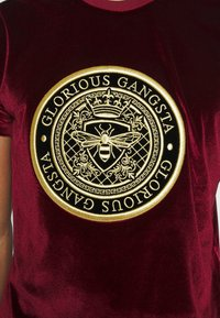 Glorious Gangsta - MARENO - Print T-shirt - burgundy - 5