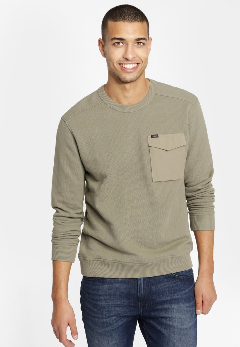 Lee - MILITARY - Sweter - utility green