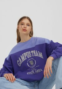 PULL&BEAR - Felpa - purple - 4