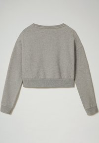 Napapijri - B-BOX CROPPED C - Sweatshirt - medium grey melange - 2