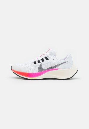 AIR ZOOM PEGASUS 38  - Hardloopschoenen neutraal - white/black/football grey/pink blast