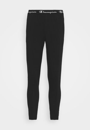 SLIM PANTS - Joggebukse - black