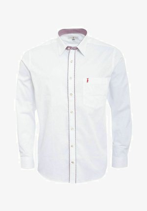 TRACHTEN EDI REGULAR FIT  - Shirt - weiß
