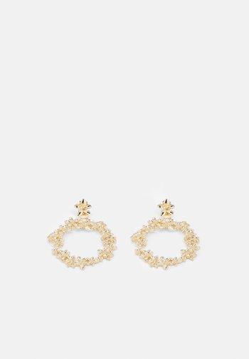 PCNIOVO EARRINGS - Earrings - gold-coloured