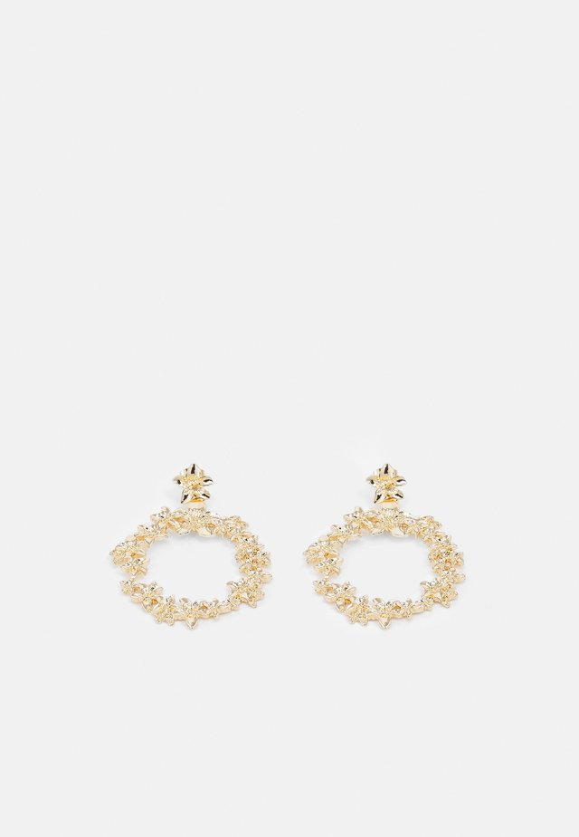 PCNIOVO EARRINGS - Oorbellen - gold-coloured