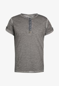 Key Largo - ARENA - T-shirt con stampa - silber - 6
