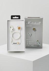 Marshall - MINOR II BLUETOOTH  - Cuffie - white - 2