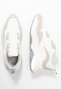 ONLY SHOES - Tenisky - white - 3