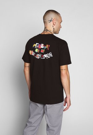 PRODUCT TEE - T-shirt con stampa - black