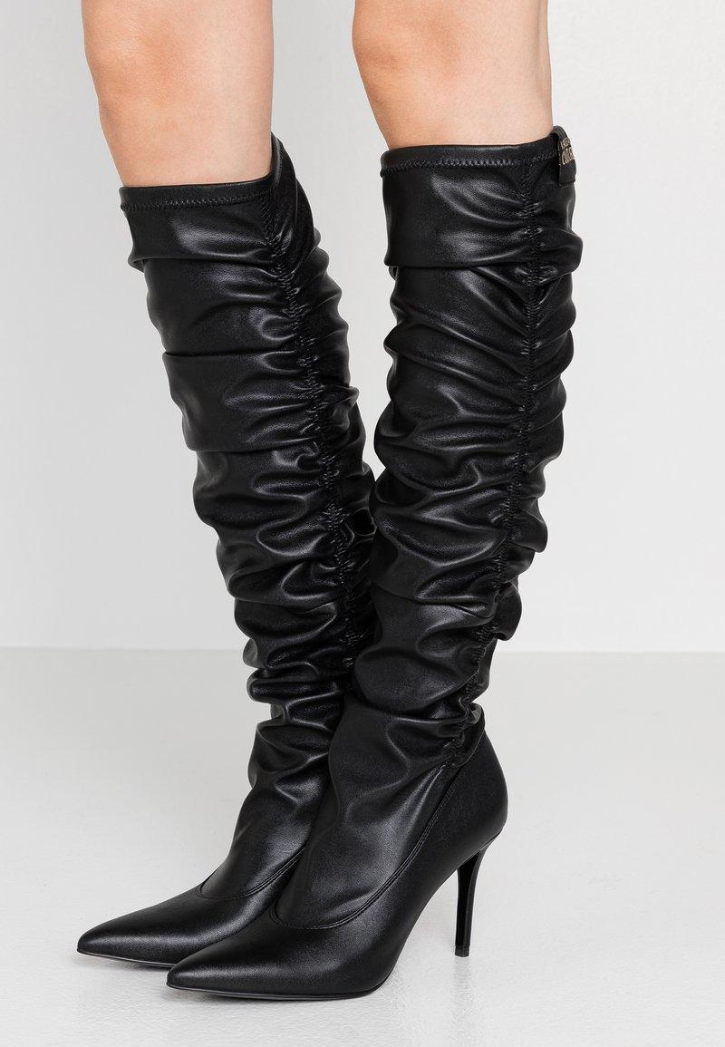 Versace Jeans Couture - Botas de tacón - nero