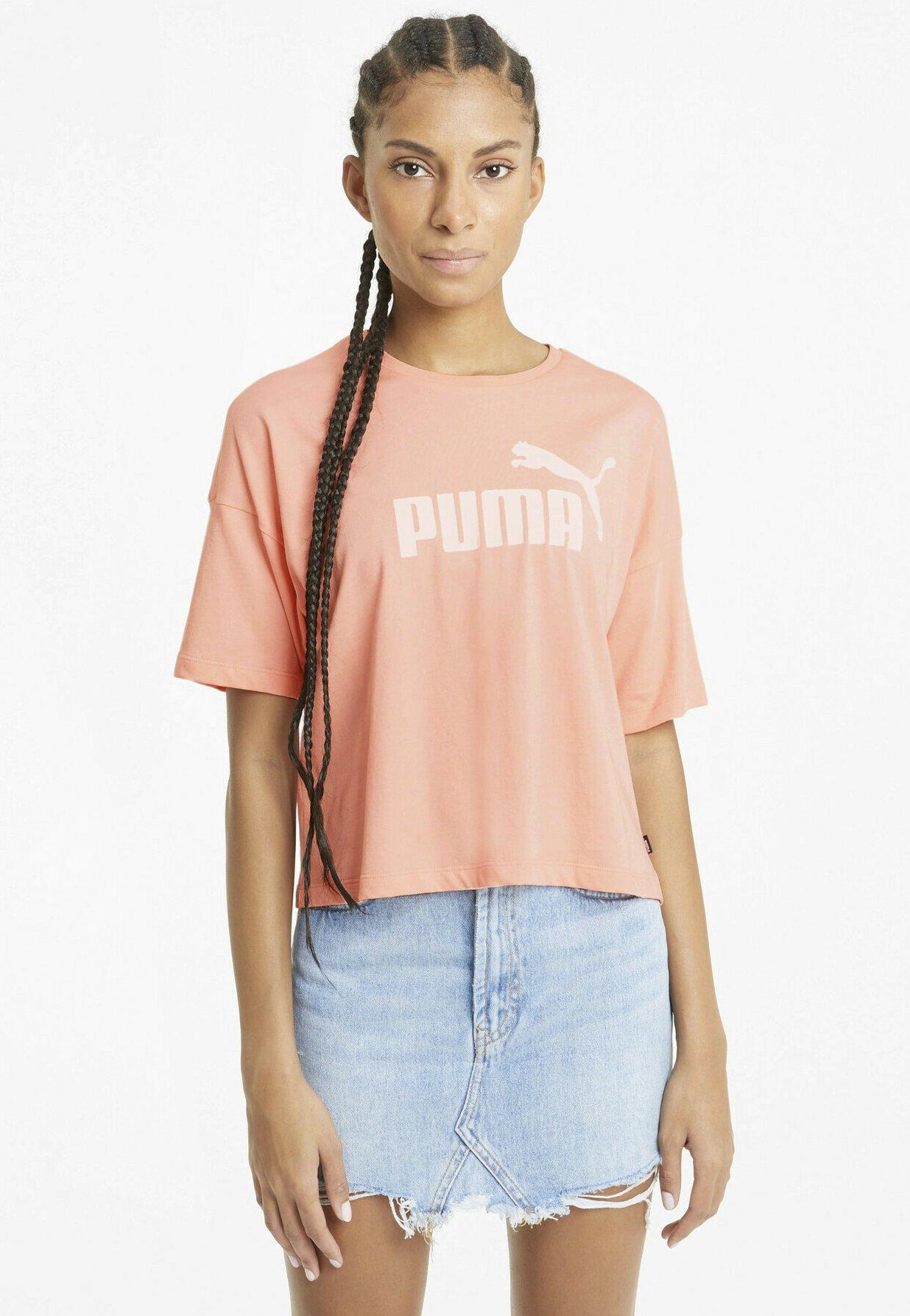Damen CROPPED LOGO - T-Shirt print