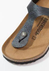 Birkenstock - GIZEH - T-bar sandals - slate - 6