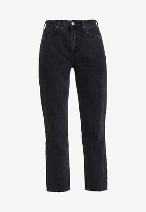 CAROL - Jeans Straight Leg - black aurora