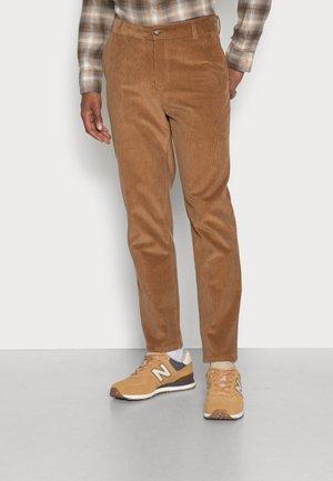 CORDUROY PANTS - Trousers - camel