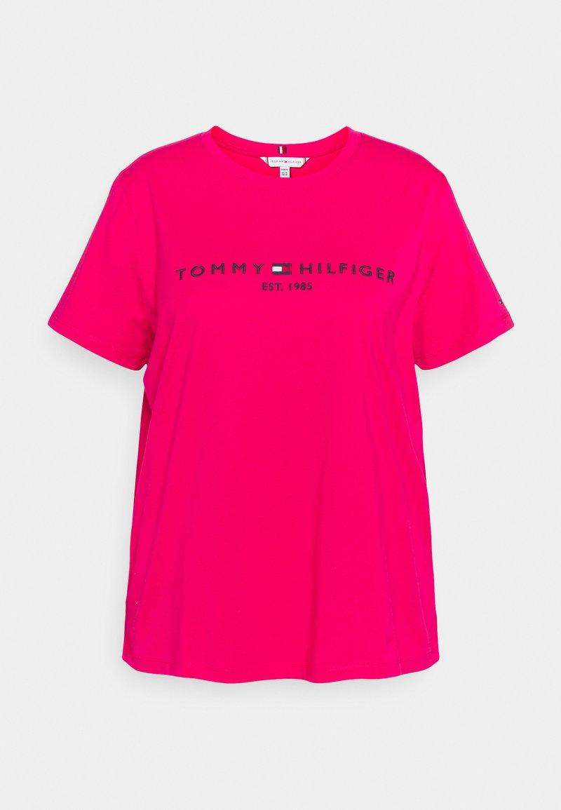Tommy Hilfiger Curve - REGULAR TEE - Print T-shirt - bright jewel