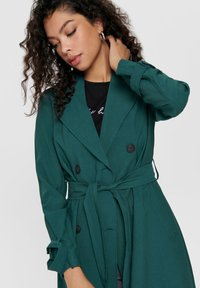 JDY - JDYARYA - Trench - deep teal - 4