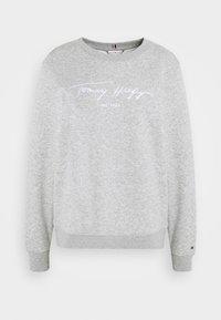 Tommy Hilfiger - SCRIPT - Sweatshirt - light grey heather - 4