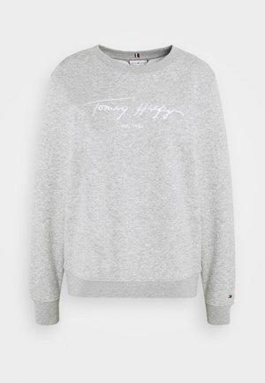 SCRIPT - Sweater - light grey heather