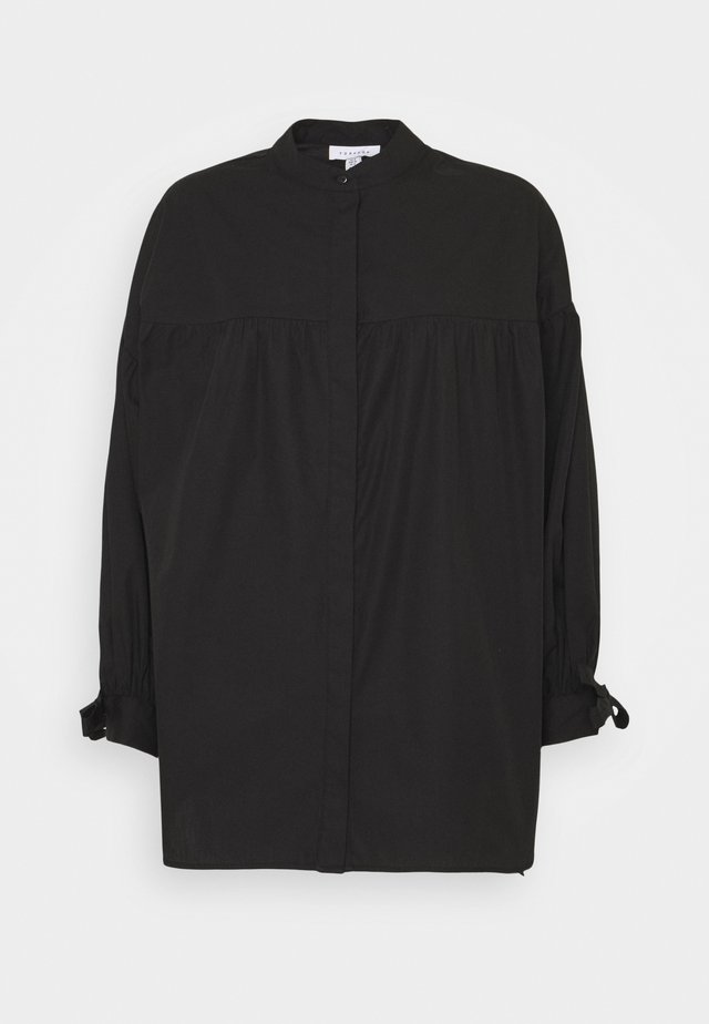OVERSIZED BABYDOLL BLOUSE - Bluzka - black