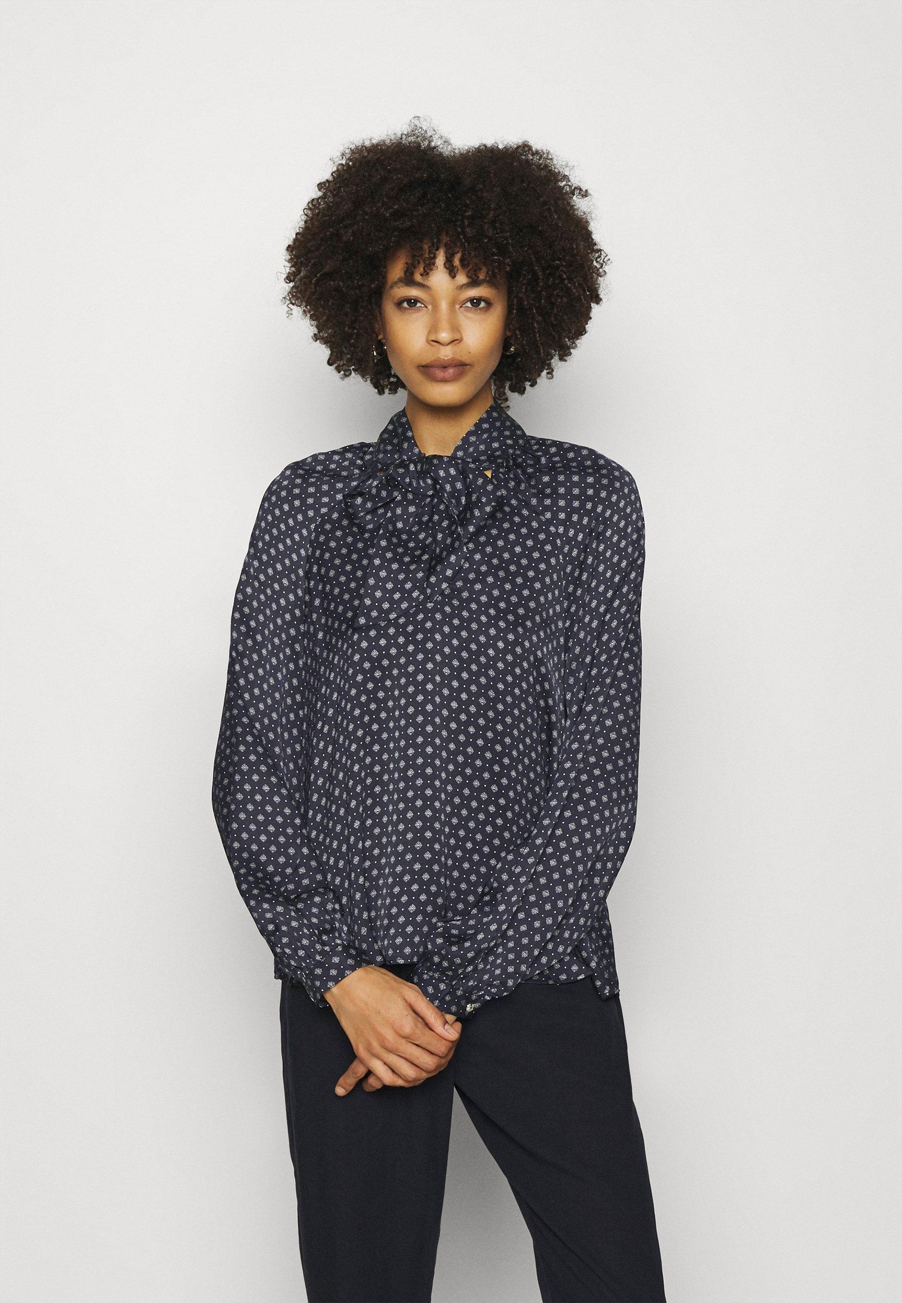 Women TIE BLOUSE - Button-down blouse